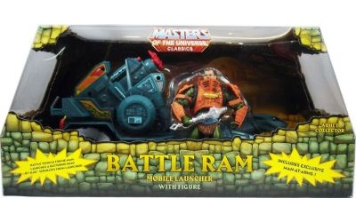 BATTLE RAM WITH MAN-AT-ARMS