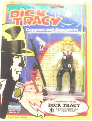 Dick Tracy Figures
