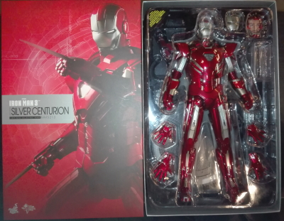 IRON MAN SILVER CENTURION MARK 33