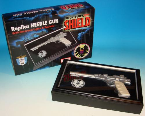 NICK FURY NEEDLE GUN PROP REPLICA