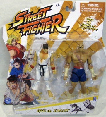 STREET FIGHTER: RYU VS. SAGAT